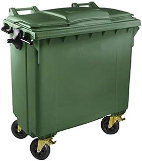 Schone Products UK Mantiene los contenedores de Basura limpios y sin Olor Capacidad de 240 l - 8 Bolsas de Basura con Ruedas
