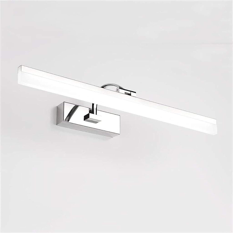 WPJQD Badspiegellampen Spiegelscheinwerfer Kosmetikspiegel Licht Badezimmerbeleuchtung im europischen Stil wei Lnge  50 cm, 60 cm, 70 cm (Farbe   A, gre   60cm)