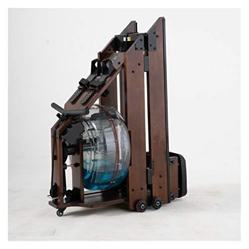 PPLAS Máquina de Remo de la Resistencia del Agua Plegable Comercial Home Gym Gyper Boating Mute Rowing Machine para el hogar (Color : B)