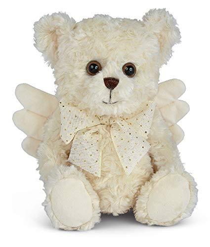 Bearington Peace Plush Stuffed Animal Angel Teddy Bear, 12'