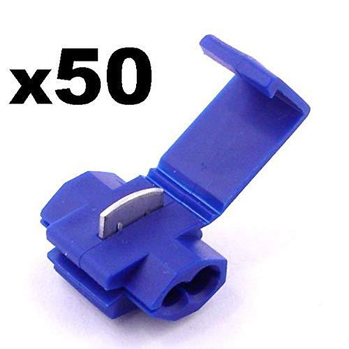 20 x Scotch Blu LOCK 3m SCOTCHLOCK Snap-Lock cavo//filo Elettrico GIUNZIONE
