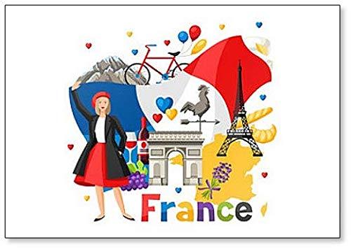 France Designs - Koelkast Magneet