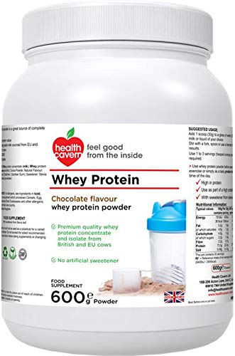 Health Cavern Whey Protein Chocolate Flavour