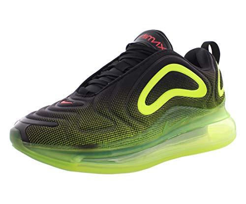 Nike Air Max 720 (GS), Scarpe da Atletica Leggera Bambino, Multicolore (Black/Bright Crimson/Volt 000), 34 EU