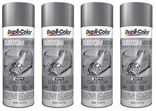 VHT/ Duplicolor  CWRC900 Paint Matte Clear Coat Aerosol Can 11 Ounce (4)