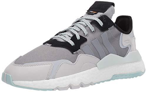 adidas Originals Zapatillas de Senderismo Nite Jogger W para Mujer, Color Gris, Talla 37 EU