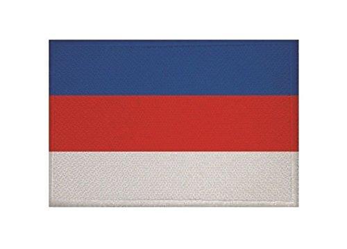 U24 Aufnäher Sorben Fahne Flagge Aufbügler Patch 9 x 6 cm