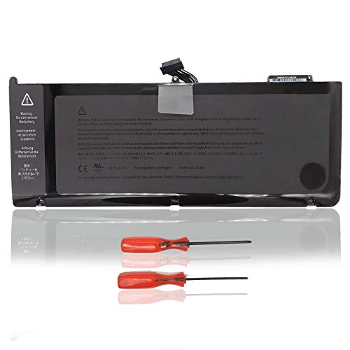 SZZXS Laptop portátil batería de Repuesto A1382 Compatible para Apple MacBook Pro 15 unibody A1286 Core i7 (Principios de 2011 Finales de 2011 Mid 2012) 10.95 V 77.5 WH (A1382)
