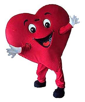 heart mascot costume