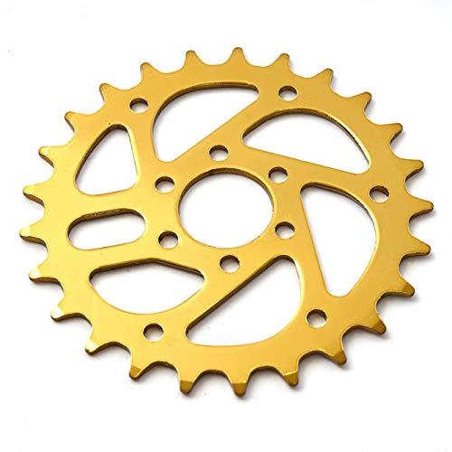 KHEbikes KHE BMX Kettenblatt 25 Zähne Gold ELOXIERT CNC nur 78g