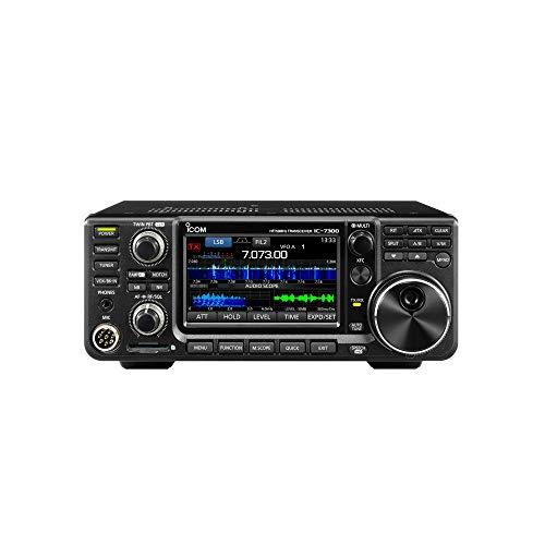 ICOM   IC-7300  (HF +50MHz  SSB/CW/RTTY/AM/FM  100Wトランシーバー)