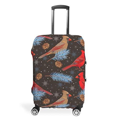 RQPPY - Juego de maletas con estampado de gorrión rojo
