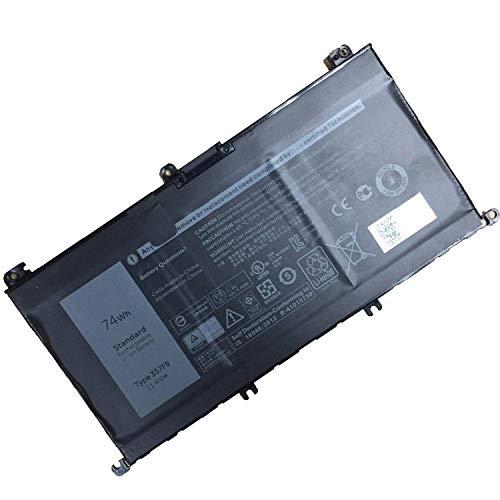 357F9 batería del Ordenador portátil para DELL Inspiron 15 7559 7000 INS15PD-1548B INS15PD-1748B INS15PD-1848B(11.4V 74Wh)