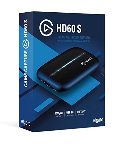 ElgatoGameCaptureHD60S[ソフトウェアエンコード式キャプチャボード(日本国内正規品)]1GC109901004