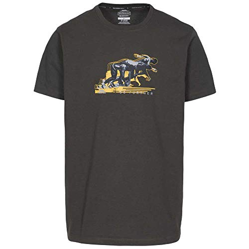 Trespass Fastest T-Shirt à Manches Courtes Homme, KHA, XXL