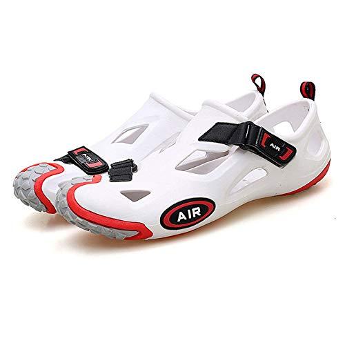 Mujer Deporte Al Aire Libre Sandalias Calzado de Ciclismo Suela de Goma EVA para Senderismo/Ciclismo/Camping Zapatos para el Agua Chicas,Red-43