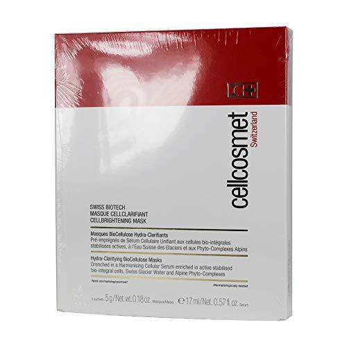 Cellcosmet & Cellmen Cellcosmet Swiss Biotech CellBrightening Mask 5 Sachets