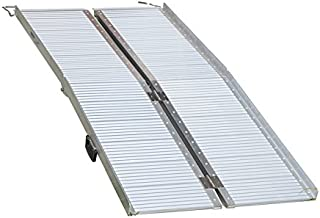 Multi Size Aluminium Ramp Folding Loading Access Portable for Wheelchair Scooter Van Disable (Large Foldable)
