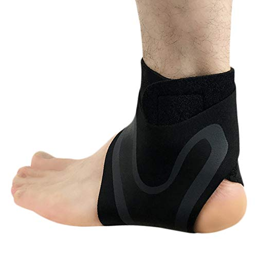 aimdonr tobillo apoyo, Professional Breathable de compresión Soporte Protección tobillo Esguinces , Traje para correr, Baloncesto, mejor para deporte