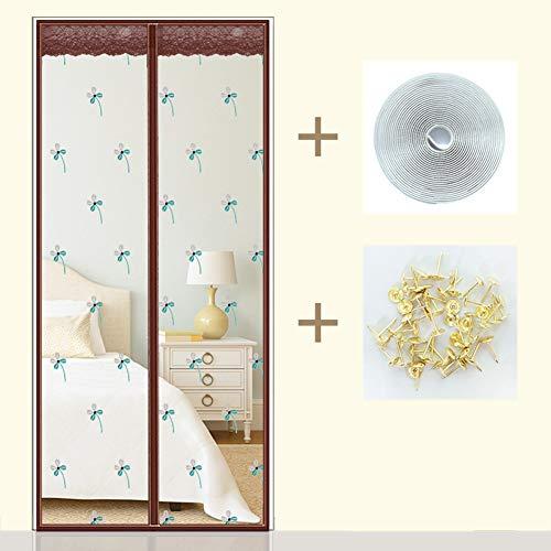 LXMJ Magnetische gordijnen tegen muggen, insecten, anti-muggen, eenvoudig te installeren, voor balkon, deuren en terrasdeuren