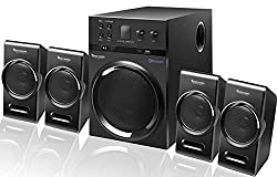 Bass Barrel BB-99 4.1 Bluetooth Multimedia Home Theater Speaker System with FM, USB/Pendrive, AUX Support!