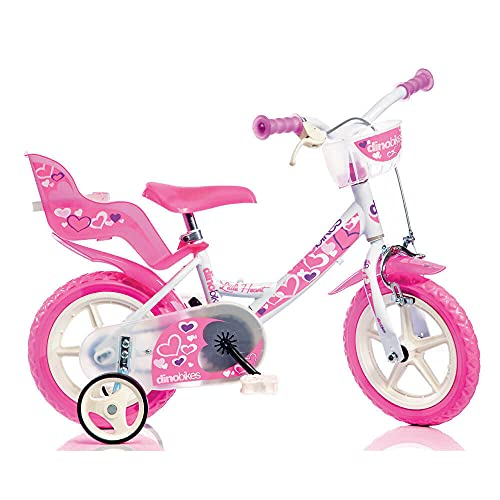 DINOBIKES Bicicletta 12' 24 Girl 124RLN
