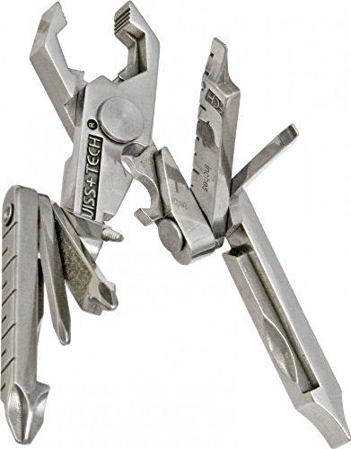 The Swiss+Tech 19-in-1 Keychain Multi-tool