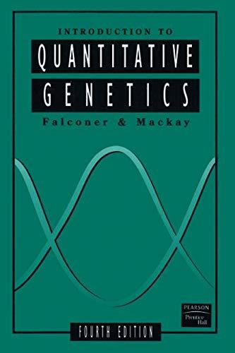 Introduction to Quantitative Genetics (4th Edition)