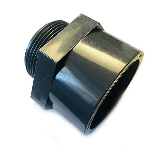 PVC-U Gewindemuffe mit Außengewinde Übergangsmuffe mit 63mm Klebemuffe auf 2