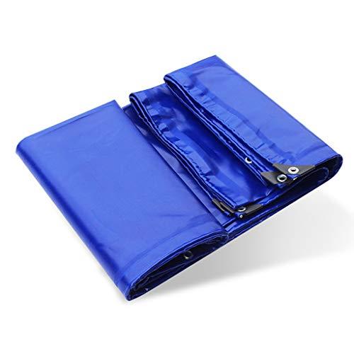 Baches Toile antipluie imperméable en Toile de Poncho auvent épais Toile de Protection Solaire en linoléum écran Solaire - Options Multi-Tailles (Taille : 4m*5m)