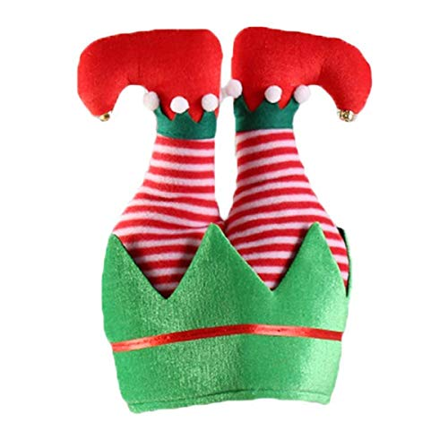 3D Christmas Sweater Party Elf Hat - Christmas Creative Hat Adult (No.2)