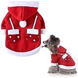 ATROPOSS 犬服 ペット服 秋冬 クリスマス 秋冬 コスチューム コスプレ コート 洋服 仮装 撮影 写真 かわいい おしゃれ 小型犬 中型犬