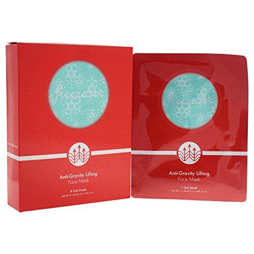 Freeze 24.7 Anti-Gravity Lifting Face Mask (8 Gel Masks) 1oz/30ml New In Box