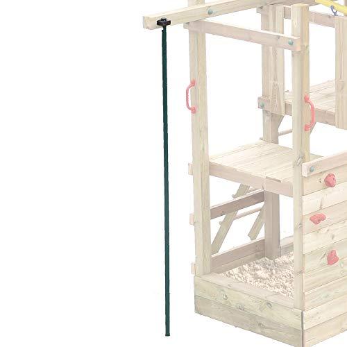 FATMOOSE Feuerwehrstange gerade für Spieltürme, Rutschstange, Spielturm-Zubehör