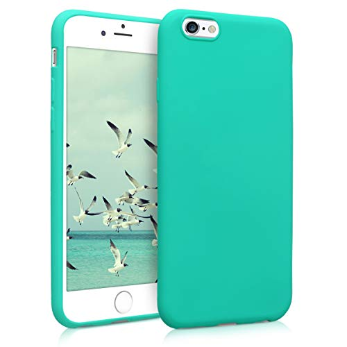 kwmobile Hülle kompatibel mit Apple iPhone 6 / 6S - Handyhülle - Handy Case in Neon Türkis