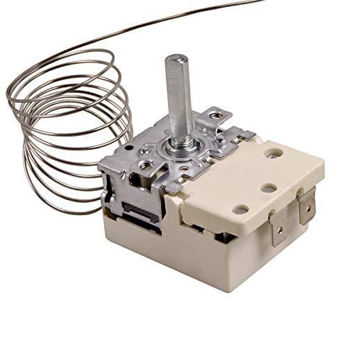 Thermostat 50-320°C für Backofen Zanker Bosch Amica Bauknecht AEG Siemens Juno Küppersbusch Ersatz für EGO 55.18062.050 5518062050 Herd Ofen Ersatzteile