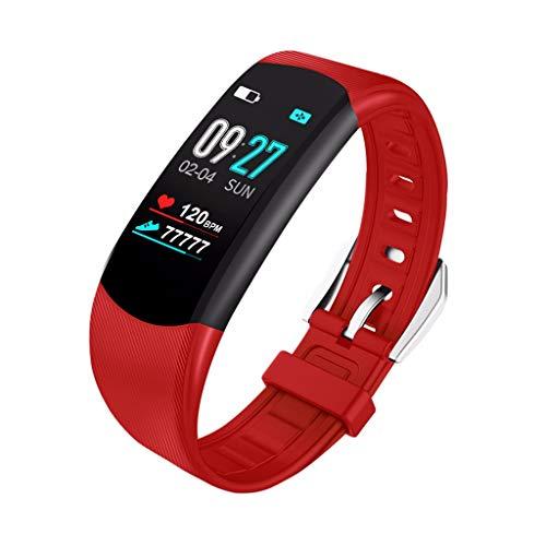Letter54 Damen Uhr Wasserdicht Health Watch Smartwatch Mit Blutdruckmessung 2019 Uhr Pulsmesser Blutdruck Smart Watch Sport Fitness Aktivität Herzfrequenz Tracker Blutdruck Kalorien