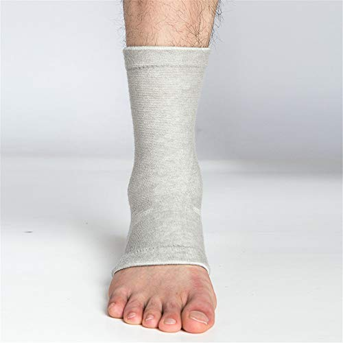 Fcgfh Tobillera Tobillera/Compresión Manga/Soporte for el Tobillo - y Escrito - Protector/Guardia con Gel de Silicona del cojín del pie de Apoyo (Color : 5, Size : Ankle Guard)