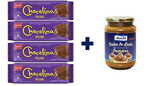 Pack Chocotorta- 4 ud Chocolinas + 1ud Dulce de leche Mardel
