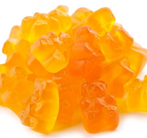 Peach Gummi Bears Peach flavor Gummy Bears 5 pounds Orange Candy candy buffet