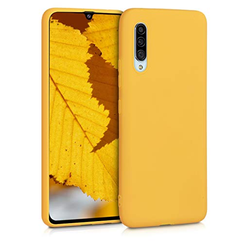 kwmobile Hülle für Samsung Galaxy A90 (5G) - Handyhülle - Handy Hülle in Honiggelb