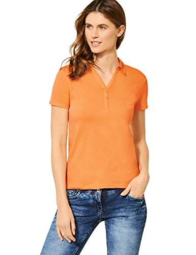 Cecil Damen 313337 T-Shirt, Cantaloupe orange, Large