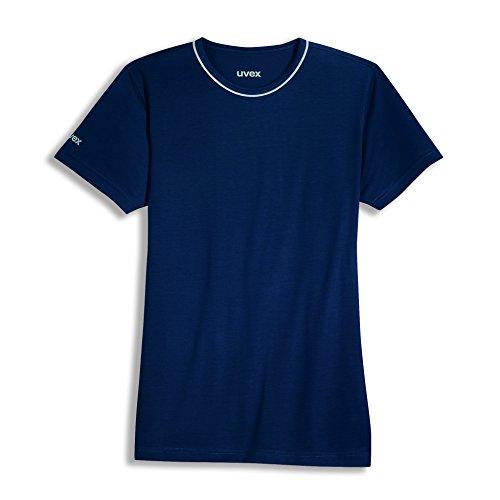 Uvex Uvex Construction Herren-Arbeits-T-Shirt - Navy Männer-Arbeitshemd - aus Tencel-Gewebe 5XL