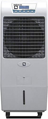 M Confort Eolus 35 - Climatizador Evaporativo Portátil, 150 W, 45 m², 3 Velocidades, Máximo Caudal 3500M³/H, Ventilador Axial, 128 x 55 x 51 cm