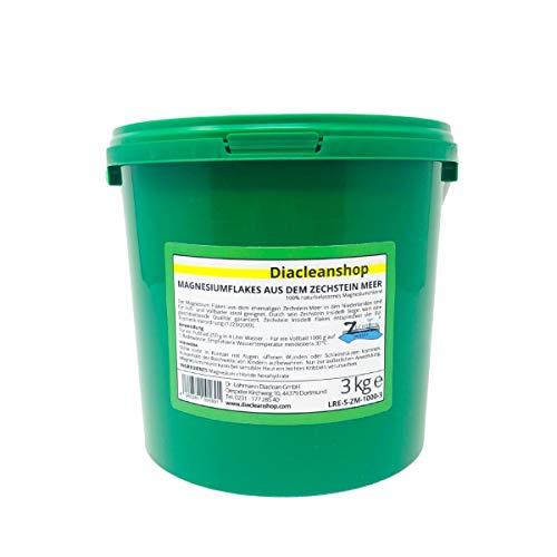 Zechstein Inside Magnesium Flakes 3kg aus dem Zechsteinmeer - Magnesiumkristalle aus Magnesiumchlorid - u.a. zur Herstellung von Magnesium Fußbad, Magnesium Vollbad uvm