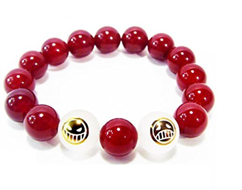 Ace agate crystal bracelet costume of high quality cosplay tool ONE PIECE port gas D Ace Fire Fist (japan import)