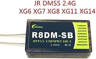 Part & Accessories CORONA 2.4GHZ R8DM-SB Receiver Compatible with JR DMSS XG6 XG7 XG8 XG11 XG14 2.4GHz transmitters