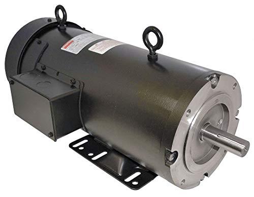 Dayton 1/3 HP DC Permanent Magnet Motor DC Permanent Magnet,1750 Nameplate RPM 90VDC Voltage 56C Frame