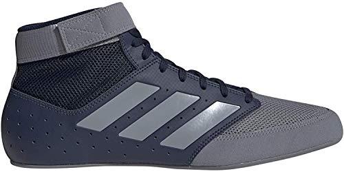 adidas Mat Hog 2.0 Navy/Grey Wrestling Shoes 9.5