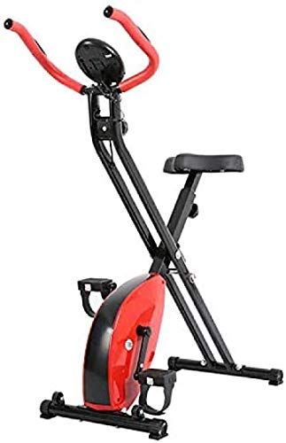 Mini Heimtrainer Klapptrainer Profi Magnetron Ultraleise Indoor Sport Pedal Heimtrainer mit LCD Display Gewicht 120kg